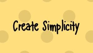 Home Page Create Simplicity