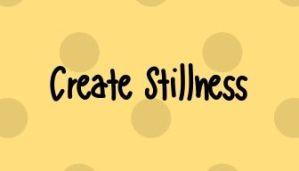 Home Page Create Stillness