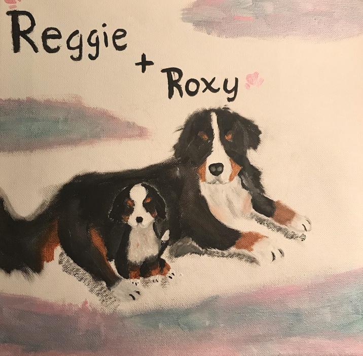 Chloe K Reggie and Roxie