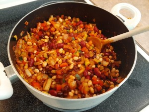 Completed Chili