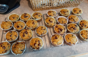 Out of oven muffins